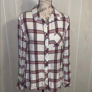 📦 Moving Sale📦 Beach Lunch Lounge flannel top